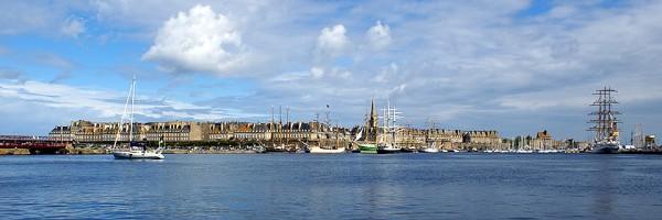 Saint-Malo lors de la Tall Ships Race 2012